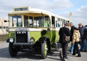 The Lincolnshire Vintage Vehicle Society (LVVS) was set up away back in 1959 to preserve and restore historic road transport vehicles for display to the general public. Shown here in 2013 is one of the first vehicles in the collection – a Leyland Lion now 86 years old!