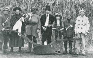 Bassingham Ploughboys in Leadenham in the 1930's