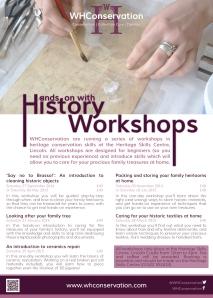 HSC Workshops poster