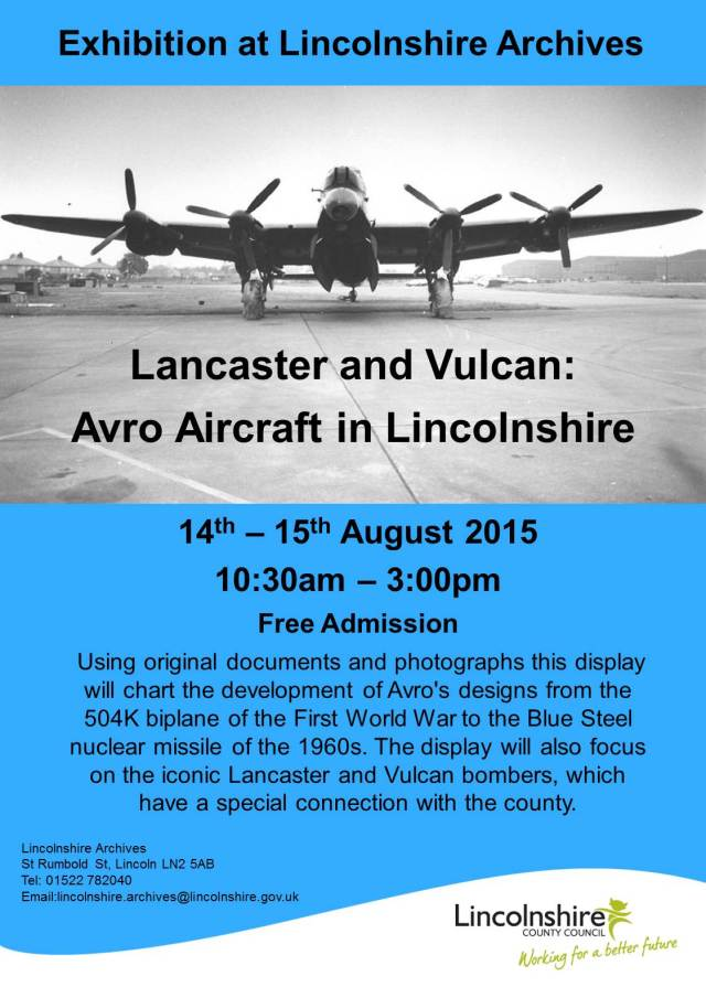 Lancaster and Vulcan Poster free version