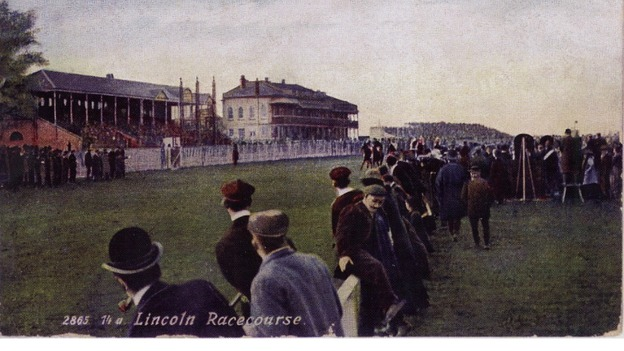 Lincoln Races c.1905 - Courtesy of Maurice Hodson