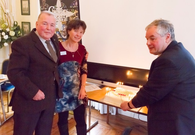 West Lindsey Churches 20th Cake Cutting