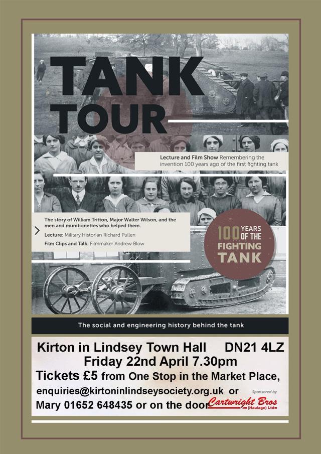 Tank Tour poster