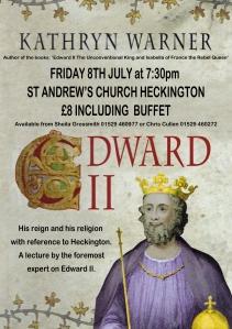 Heckington Edward 2nd talk poster image