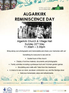 Reminiscence day poster