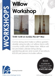 Willow Workshop poster, Caistor