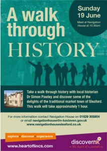 History Walk 19th June poster image