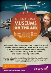 Museums on the Air event poster image